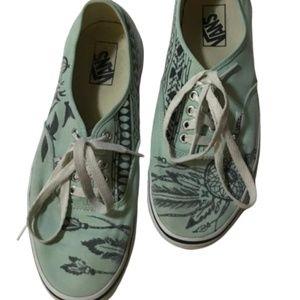 Vans Unisex Mint Green Dream Catcher Sneakers